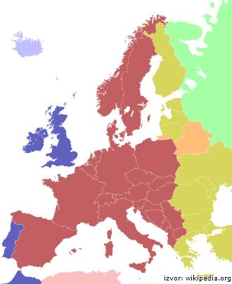 koliko je sati u evropi